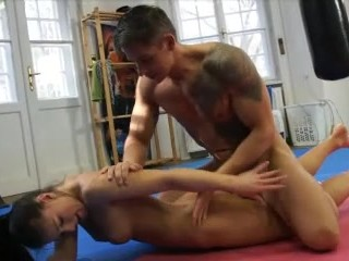Interracial wife humiliated husband