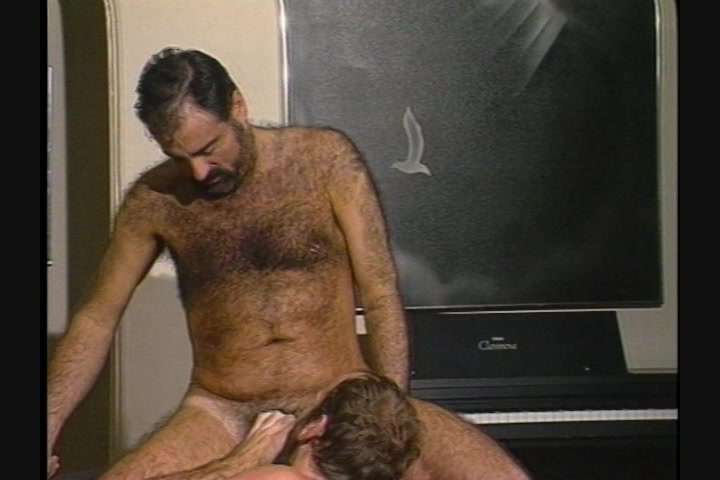 Man touch naked young girl