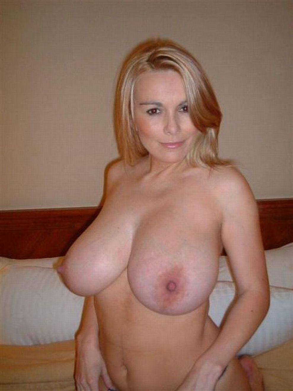 Pretty hot big tits older moms