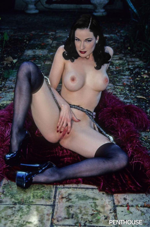 Dita von teese nude porn pics