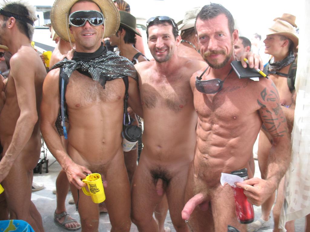 Group sex one man