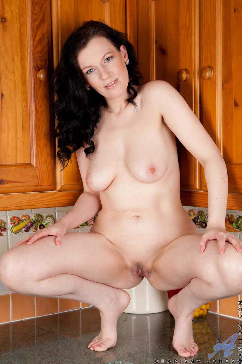 Naked girls vagina close up