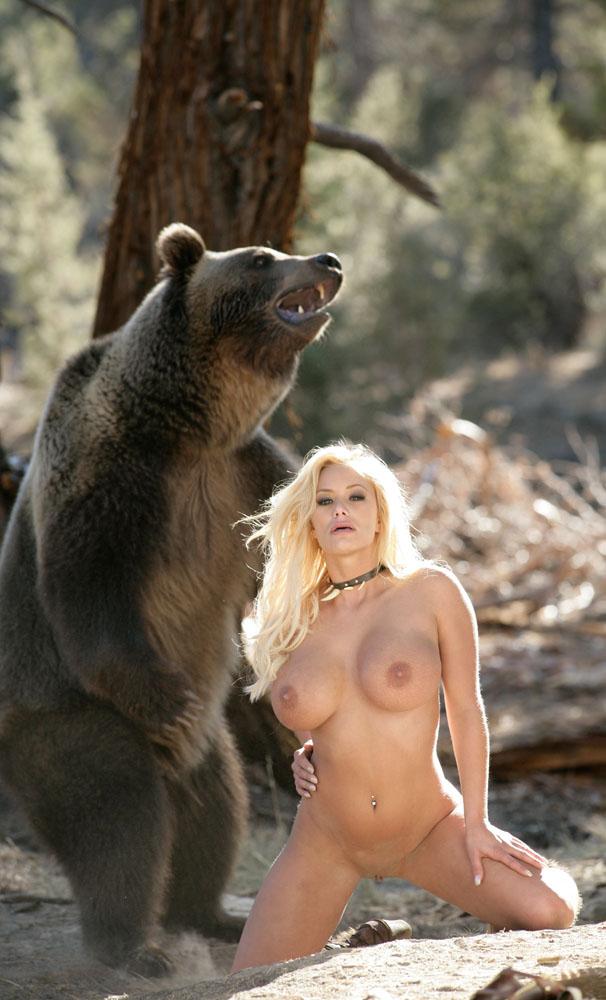 Bear Ass Naked Woman