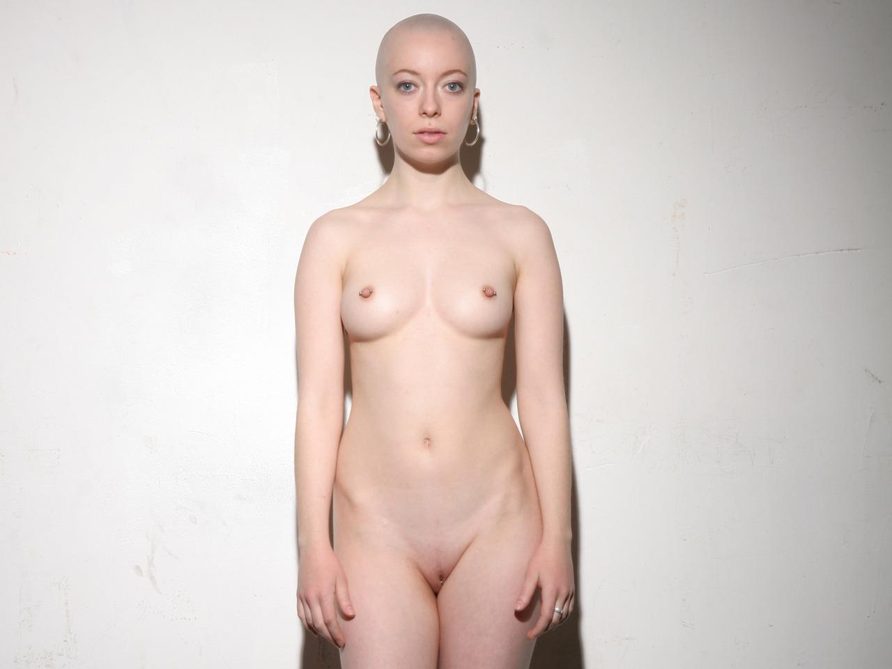 Sunny hairless naked