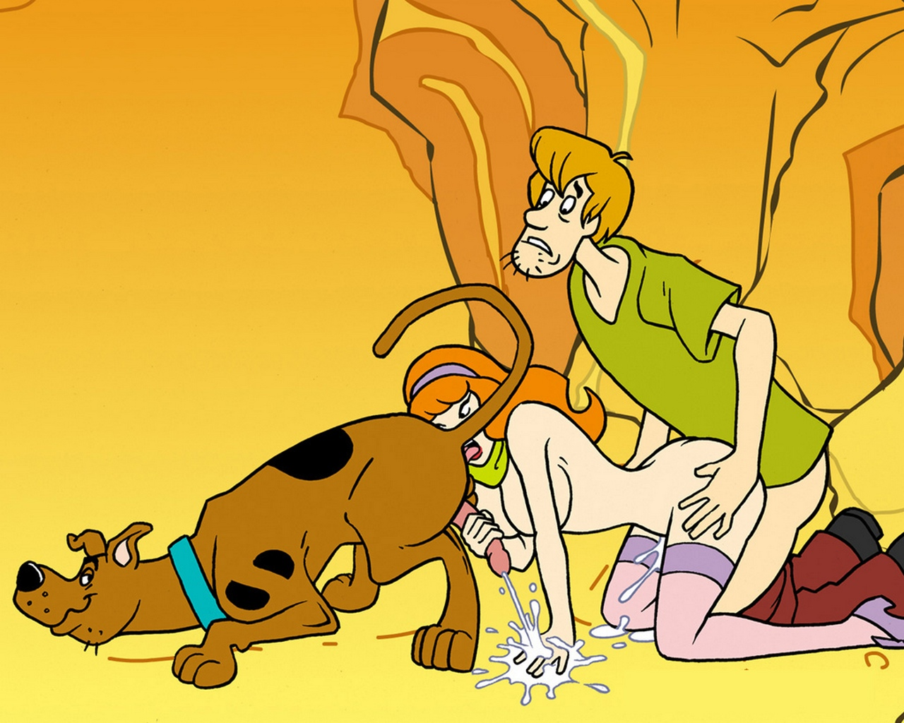 Scooby doo sex tape