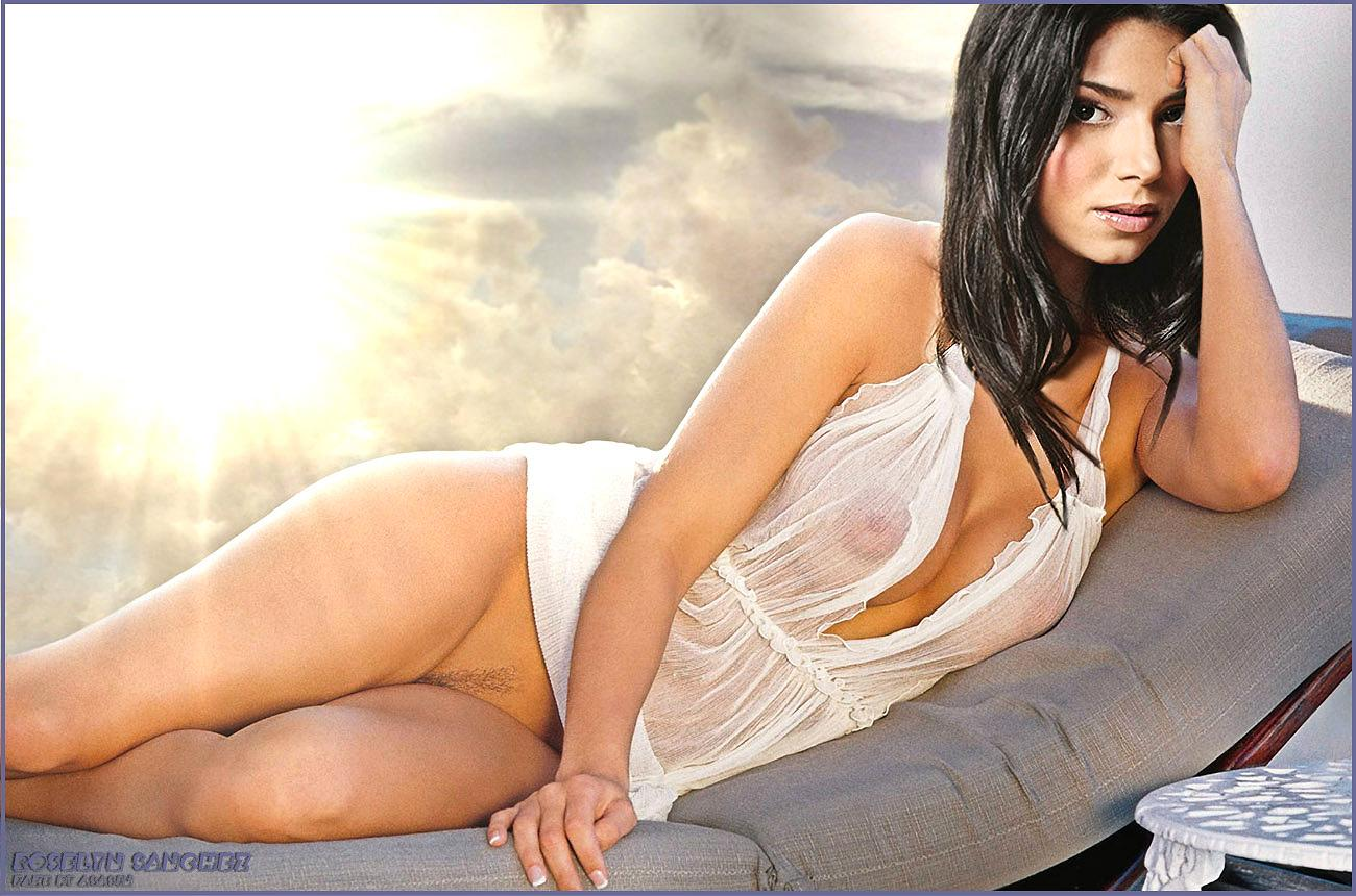 Roselyn Sanchez Nude Niples